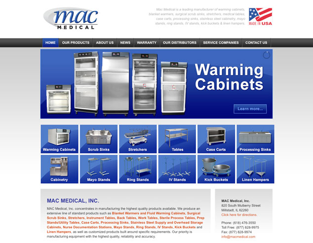 Mac Medical Web Design
