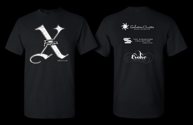 X Factor t-shirt graphic design