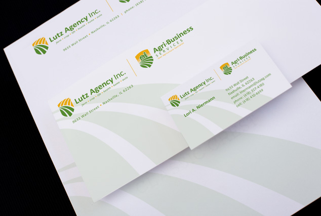 Lutz Agency & Agri-Business Services Identity Design