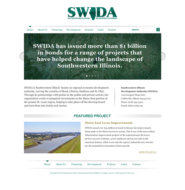St. Louis web design for SWIDA