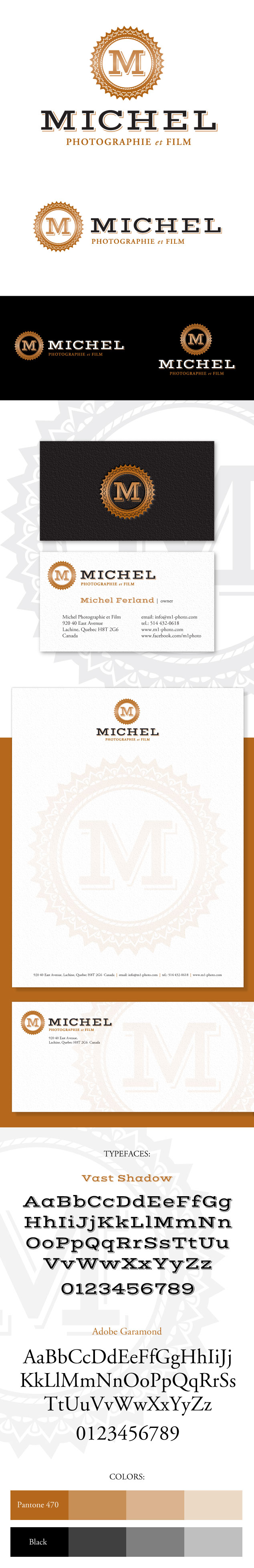 Michel Photo et Film Logo & Branding