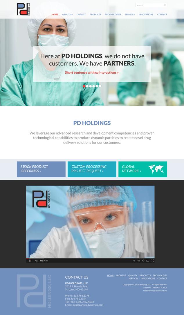 website design option 1