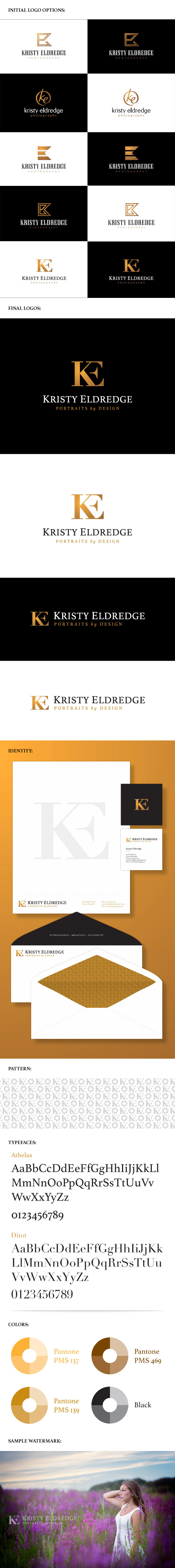 Kristy Eldredge Photography logo & branding package