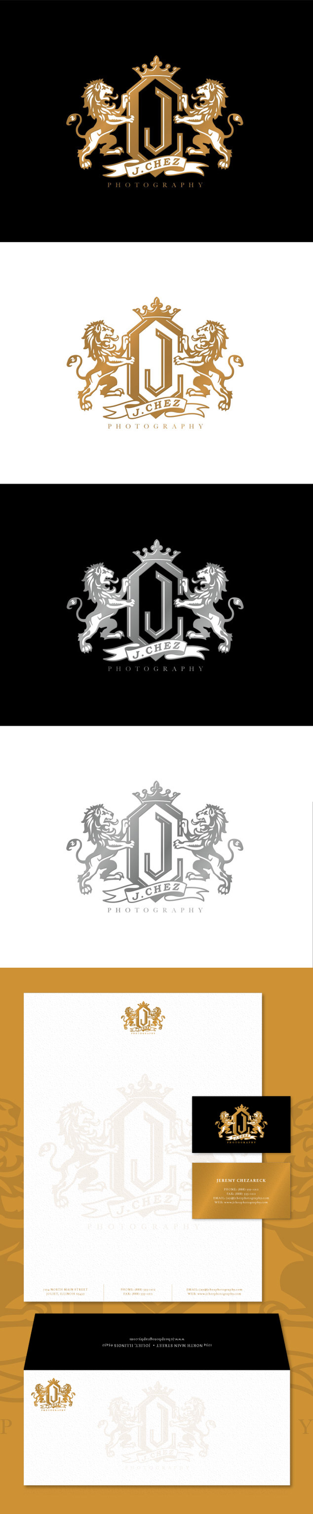 J. Chez Photography branding/logo design