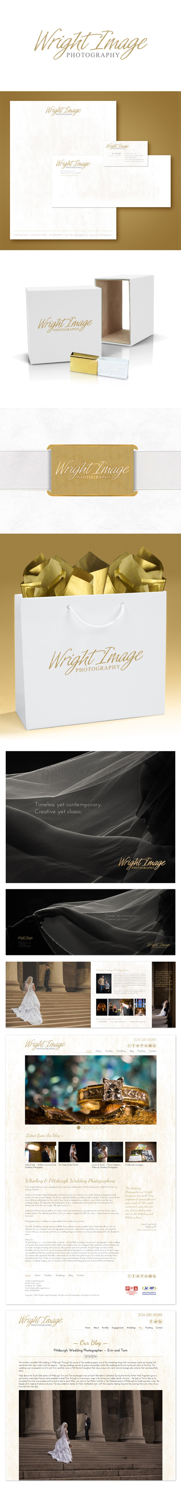 wright photography branding package