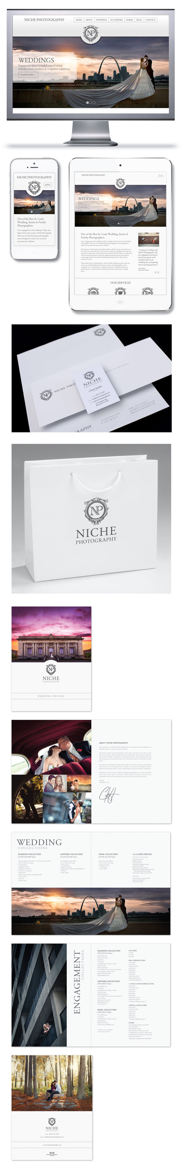 Niche Photography Branding & Website