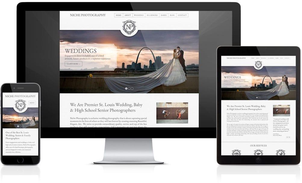 Niche Photography Website