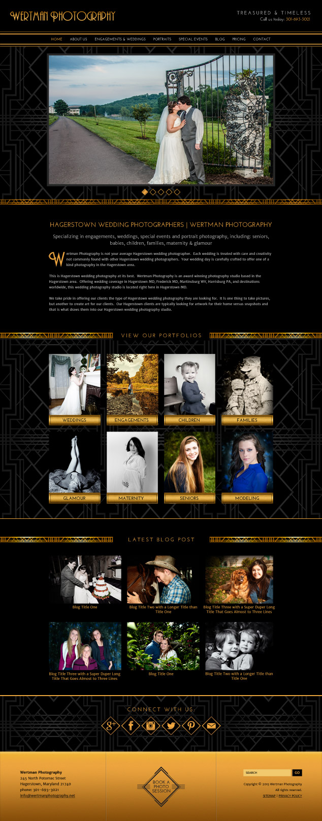 Wertman-website-design