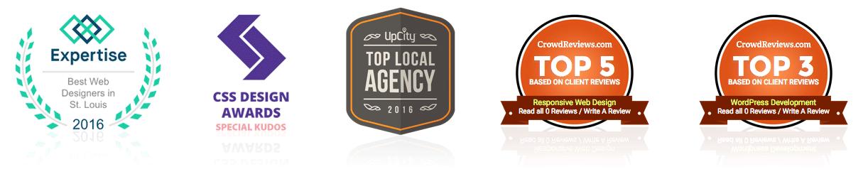 website design awards & kudos