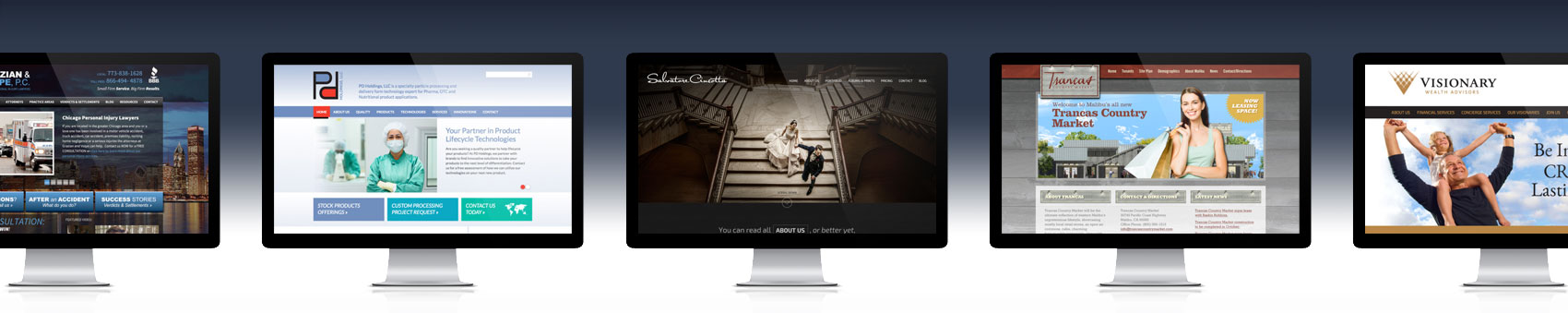 St. Louis web design banner