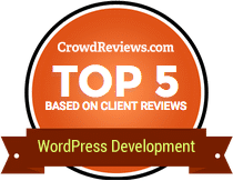 WordPress development badge