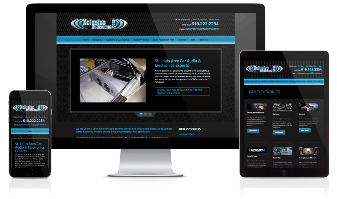 Xclusive Autosound Website