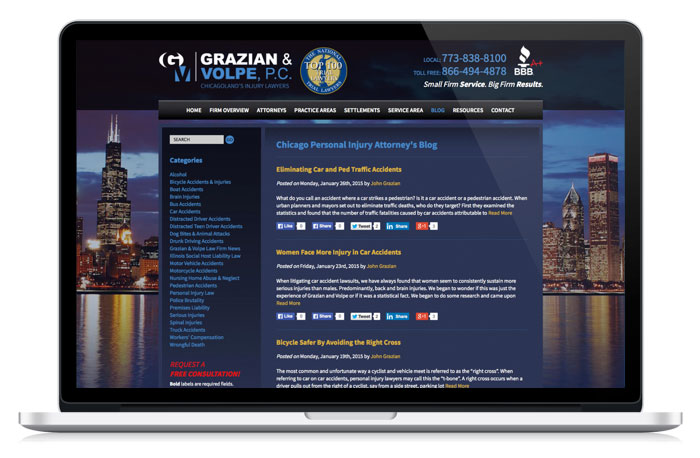 grazian2-web-design