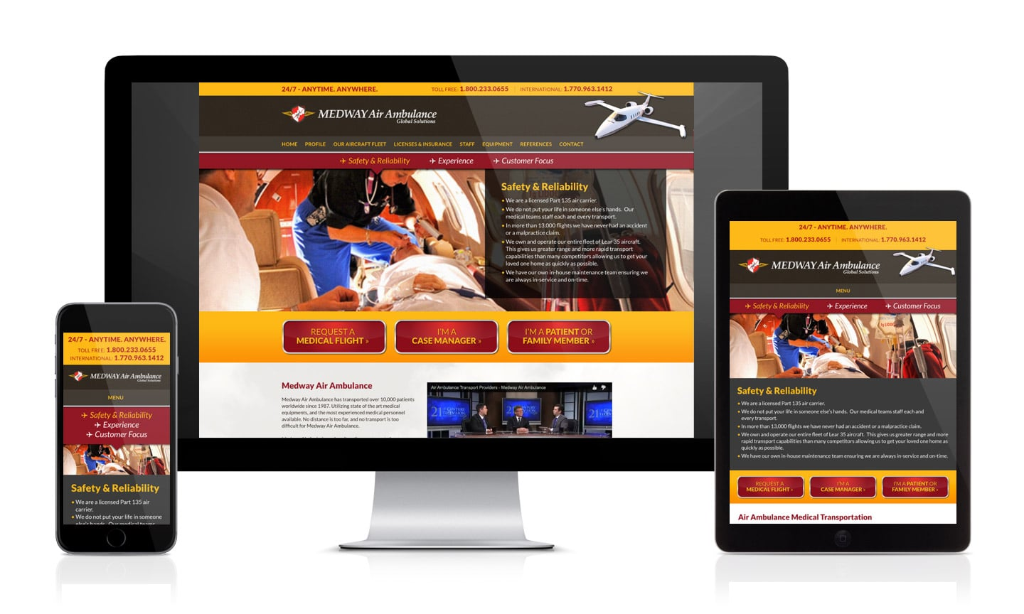 Medway Air Ambulance Website