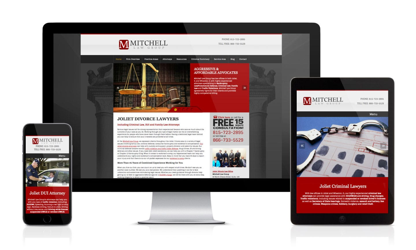 Mitchell Law Group Website