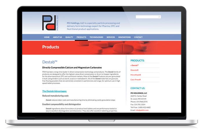 pdholding2-web-design