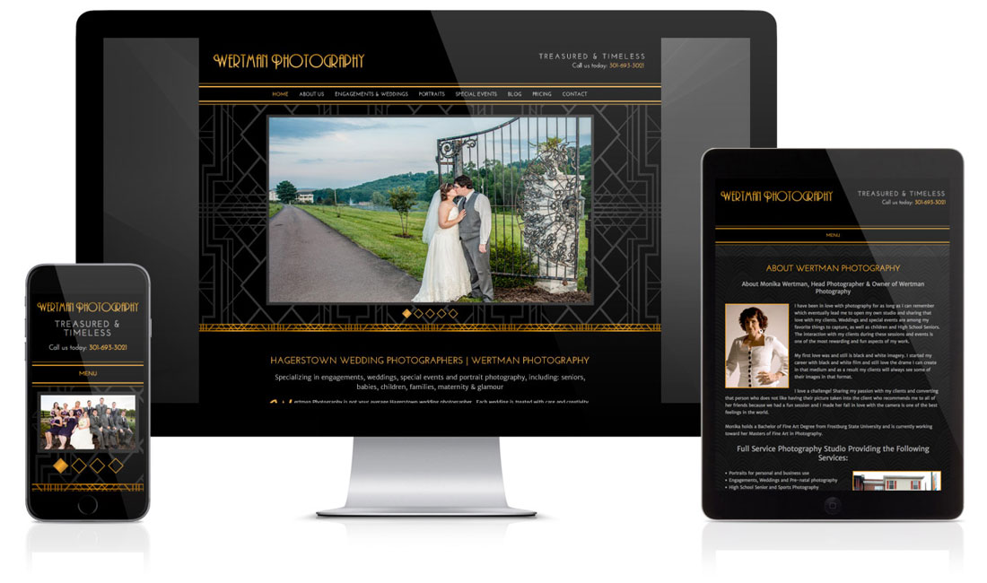 Wertman Photography Website