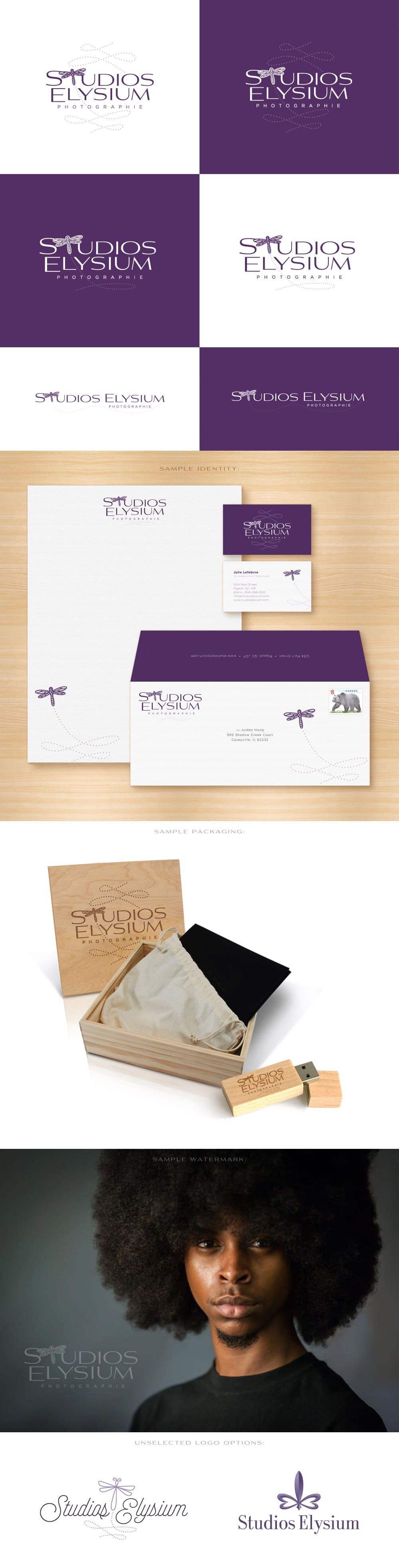 Studios Elysium logo design branding