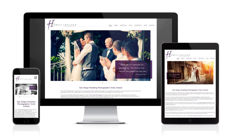 Holly Ireland Photography Website