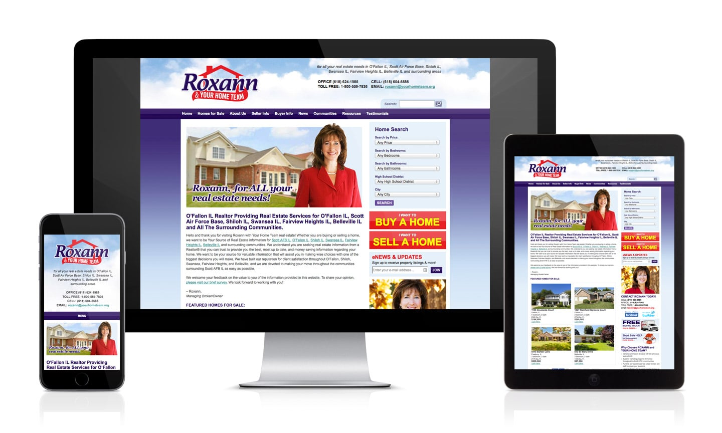 Roxann Real Estate Website