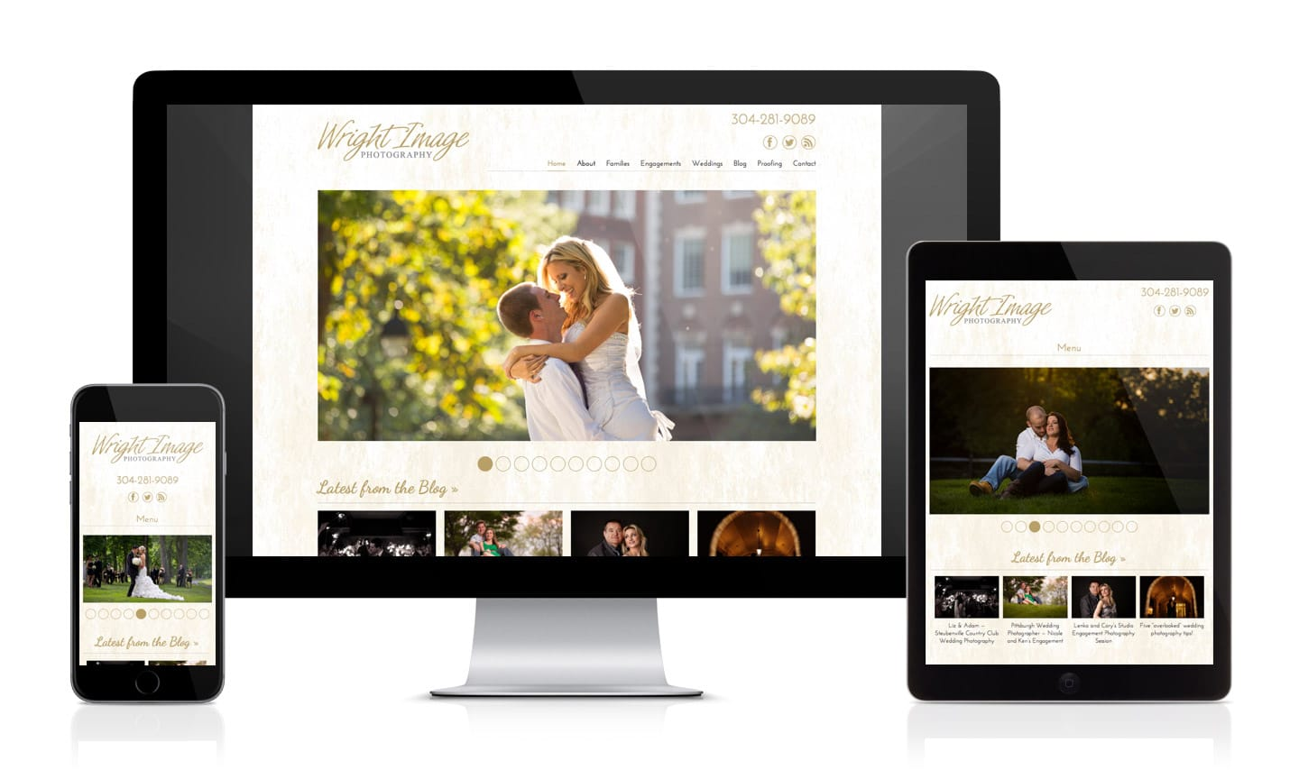 Wright Image Photography Website
