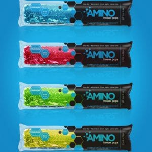 Amino Freeze Pops Packaging