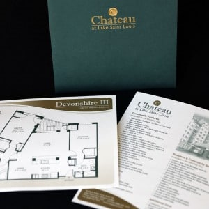 Design of inserts for a St. Louis senior living facility