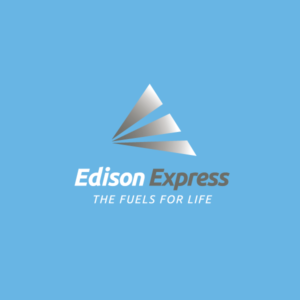 Final logo design for Edison Express