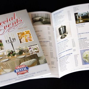 Special events catalog for Fairview Heights, IL Grand Rental Station