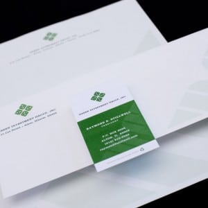 Logo & stationary design for an investment company