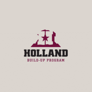 Holland BuildUp Program logo design