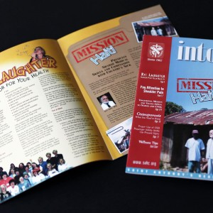 Quarterly publication for an Alton, IL hospital - designed while at a different design firm
