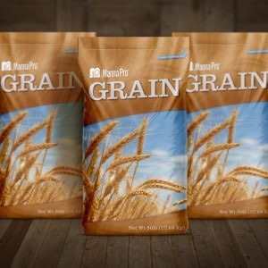 Packaging design for Manna Pro grain