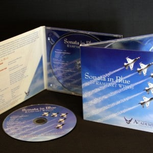 Packaging for an USAF Academy Band CD