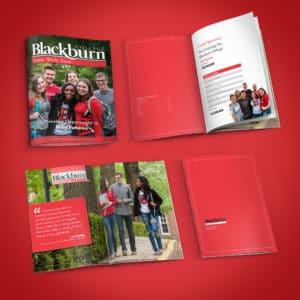 Blackburn College magazine design