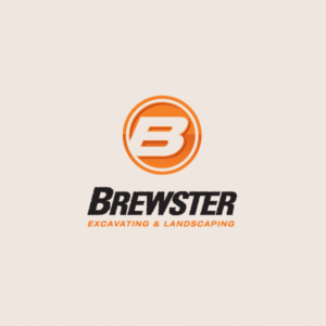 Brewster Excavating logo design