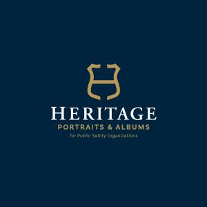 Heritage portraits & albums logo design