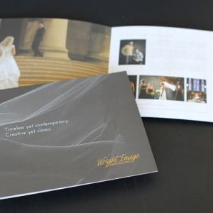 Wedding brochure for a high-end photographer
