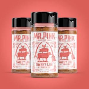 Sweet Lou BBQ Rub packaging option
