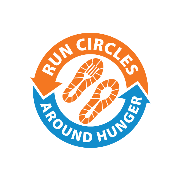 Run Circles Around Hunger final logo design