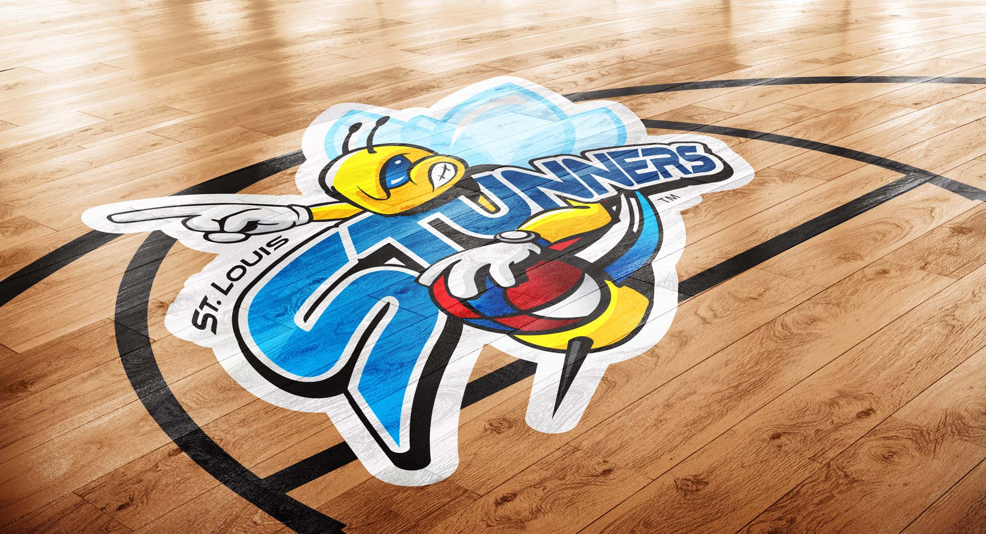 Stunners Basketball Court Logo2