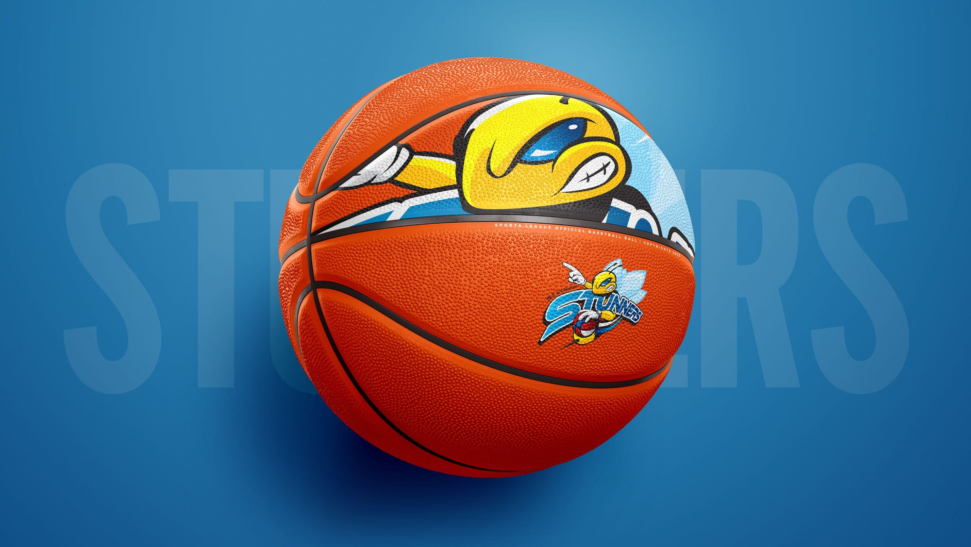 St. Louis Stunners Branded Basketball