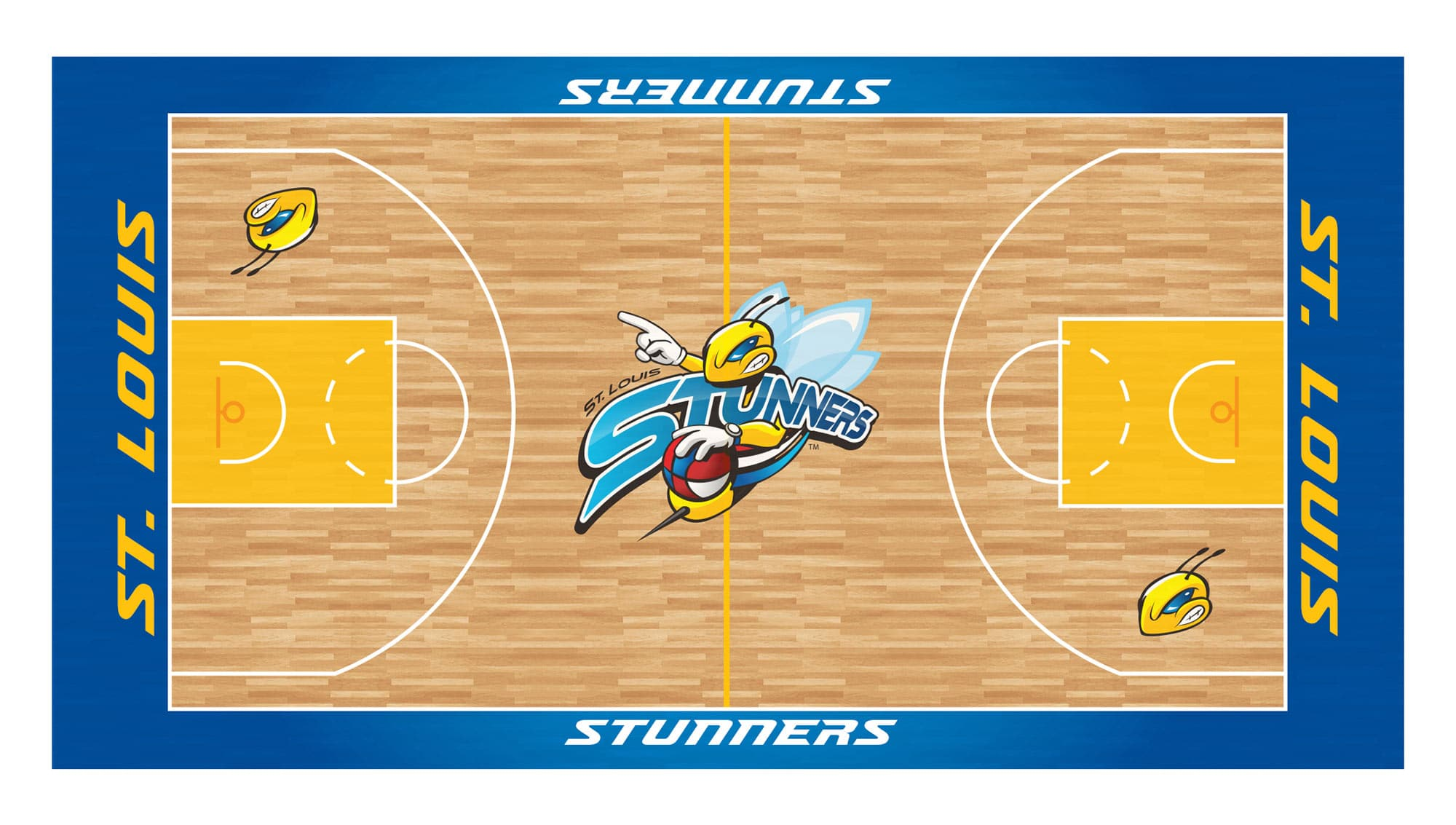 Stunners Court Design Graphics
