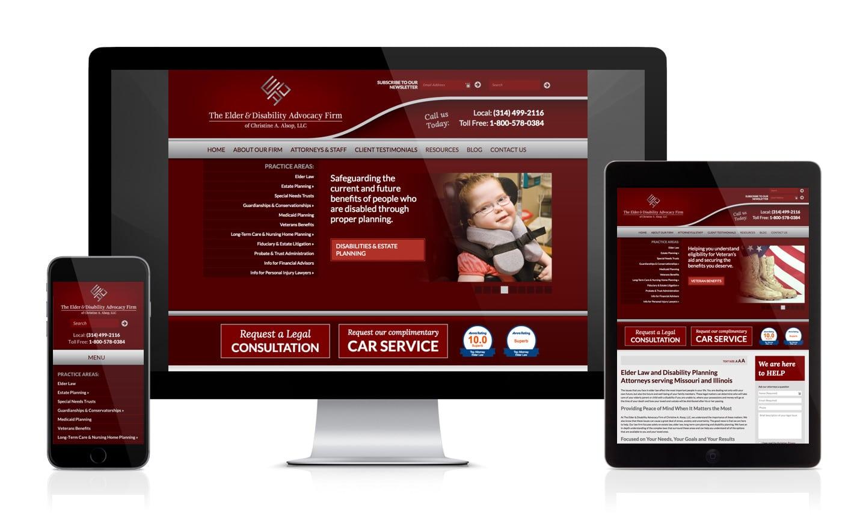 Alsop Elder Law Website