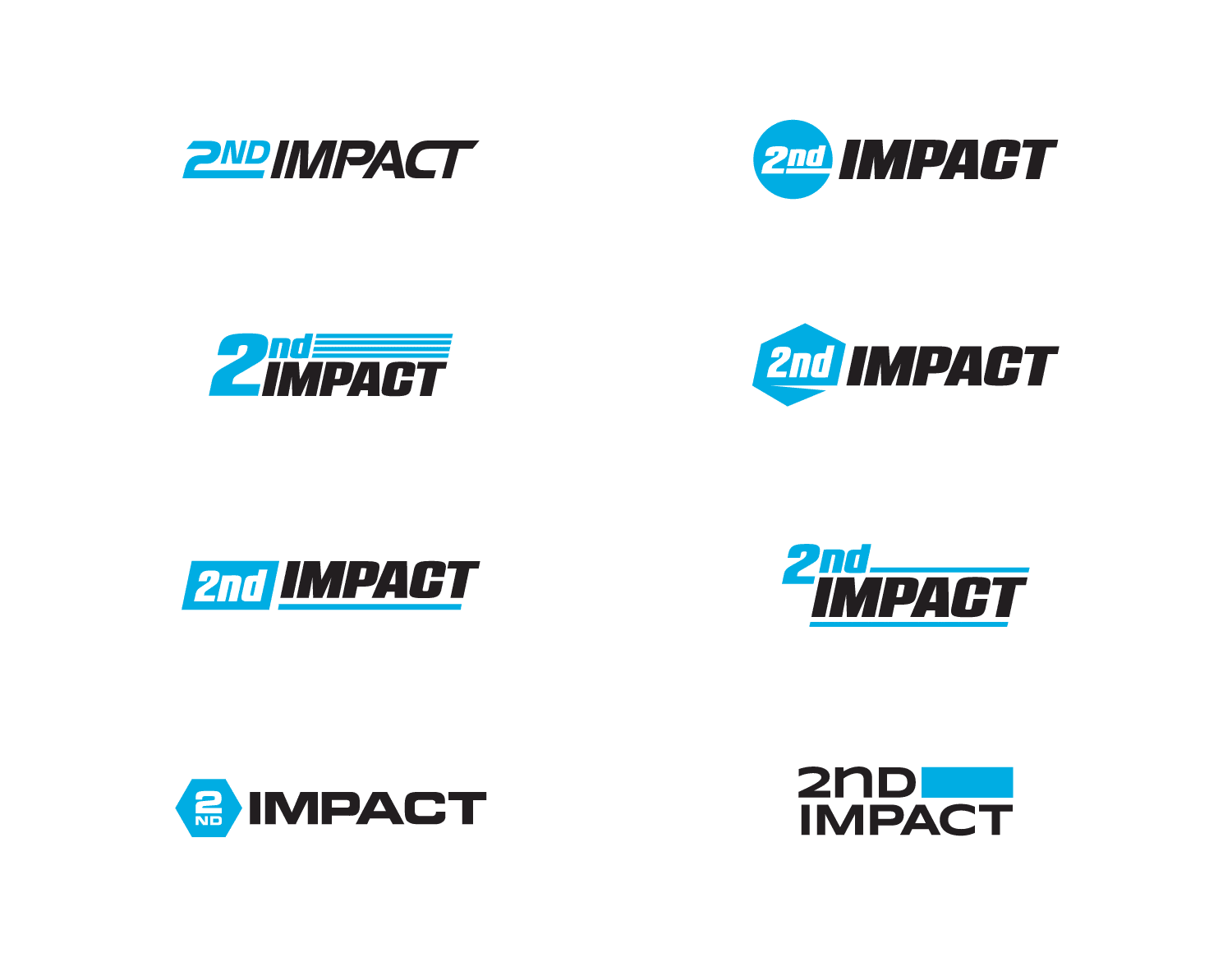 2nd Impact logo design round 1