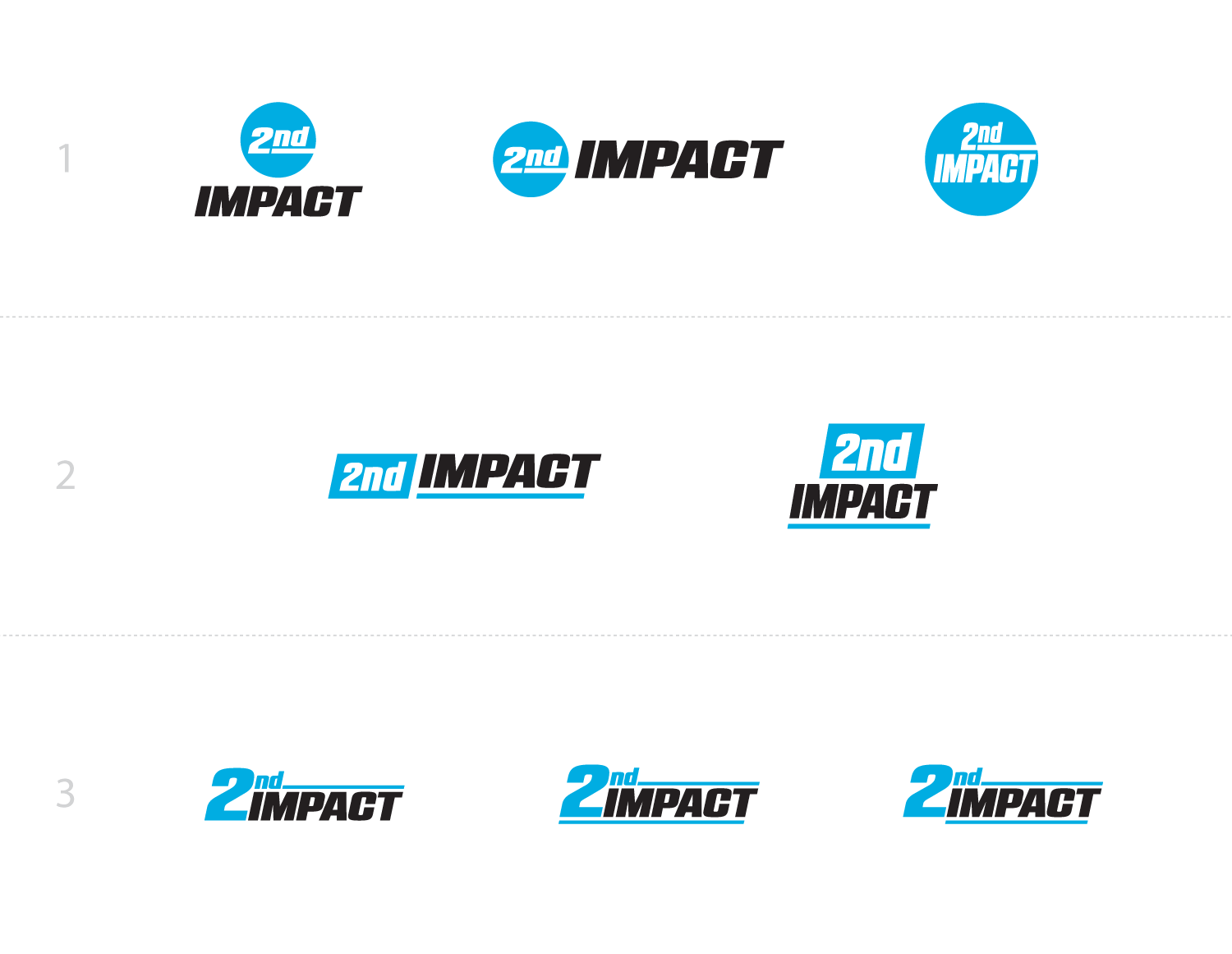 2nd Impact logo design round 2