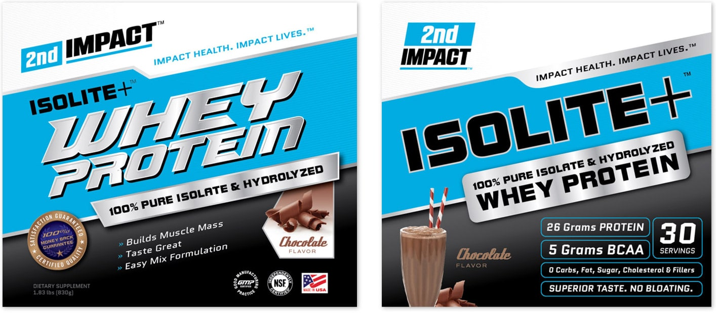 2nd Impact packaging design options