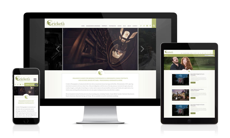 Cricket's Photography Website