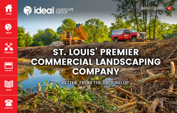 Ideal Landscape Group Website Thumbnail