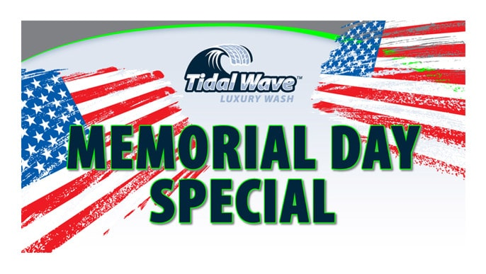 Tidal Wave Memorial Day Facebook Ad